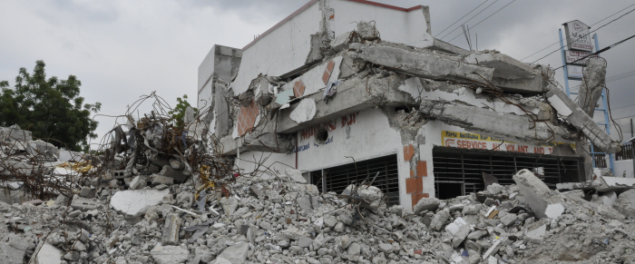 Earthquake Destruction in Haiti
